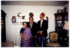 Vijay Kapoor with Habib Wali Mohd.