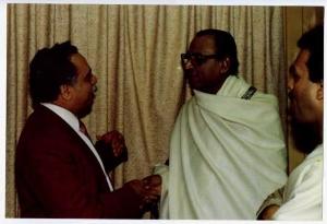 Vijay Kapoor with Dwijen Mukherjee